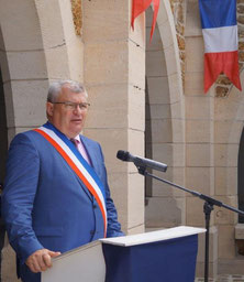 Christian Bruyen, maire de Dormans (51).