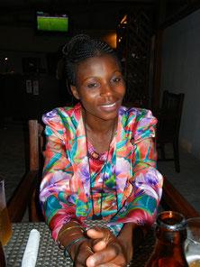Mireille Milambu, coordonnatrice a Kinshasa