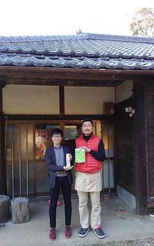 三雲社さんと酢之宮醸造所代表