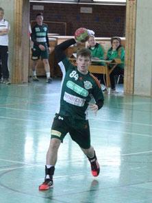 Jan Seeger (hier noch im Trikot der TSV Burgdorf) spielt die kommende Saison wieder für den TuS.