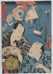 Hiroshige,ToyokuniⅢ,Kunisada,虫かご