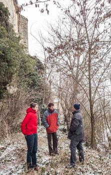 Volontaires malgré le froid