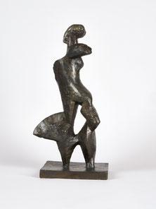 "Josef Pillhofer ""Radfahrerin"", 1951.  Leopold Museum Wien/Foto Manfred Thumberger"
