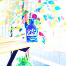 夏っぽい小瓶の写真