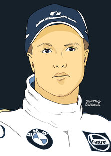 Ralf Schumacher by Muneta & Cerracín