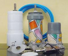 Accessori per sottovuoto in barattoli e bottiglie di vetro e bottiglie di plastica da collegarsi alla Pompa Manuale Grande o ad una pompa o macchina per sottovuoto elettrica