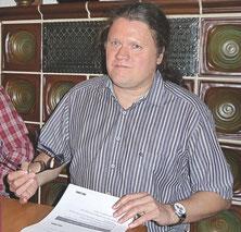 Frank Hertel, Direktkandidat der Partei Die Linke im Wahlkreis Haßberge/Rhön-Grabfeld/Bad Kissingen zur Bundestagswahl am 24. September 2017, stellte sich am 10. April 2017 beim Linken Bündnis Haßberge vor.
