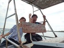 石垣島ヒートハートクラブでダイビングに出港