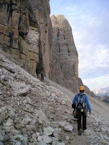 Frankreich Alpen Klettern Klettersteig Wandern Trekking