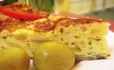 Kartoffel, Zwiebel und Ei in perfekter Harmonie: Das ist Tortilla Española