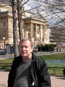 Виктор Ерофеев в Висбадене, Германия