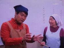 岩尾リポーターと吉田陽子氏の写真