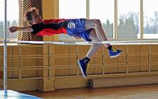 Andreas-Odin Chmelik von der MS Wittichenau gewann mit der Tageshöhe von 1,60 m