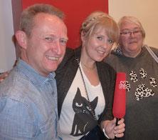 (Foto: Gerald Kaiser, Maite Kelly und Karin Thellmann)