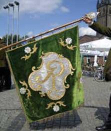 """Die """"alte"""" Fahne von 1968."""