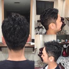 千葉市理容室Barber-salon-Revaナチュラルツーブロックスタイル写真