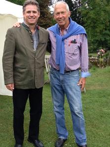 Dieter Mackenrodt gratuliert Dr. Ekkhart Hammermann