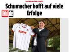 """""""Altes Stadion Köln"""" Tribüne mit T.Schumacher"""