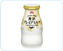 贅沢プレミアミルクの画像