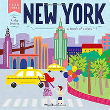 Baby Can Travel Store - New York: A Book of Colors (Hello World)
