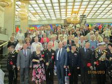 230 лет ЧЕРНОМОРСКОГО ФЛОТА в Москве 07.06.2013 г.
