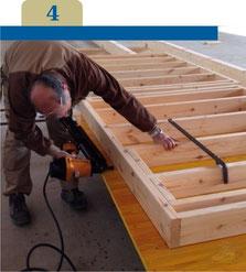 madera construcción mabitat
