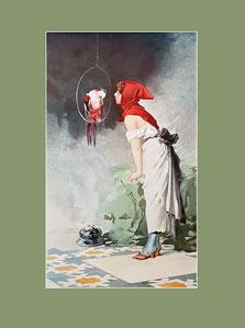 French, parrot, Edouard de Beaumont