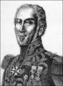 Général Simmer, commandant la 2ème brigade, 36ème division d'infanterie
