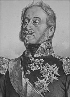 Général Pajol commandant la 10ème division de cavalerie légère