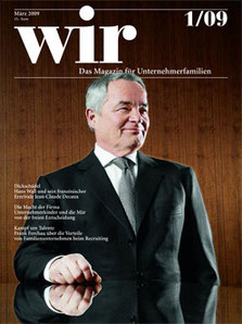 Cover Wir Magazin by Klaus Lange, Hans Wall