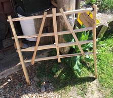 Weihnachtsgeschenke für Gärtner: Sussex Gartenkörbe sind handgefertigt aus Esskastanienholz