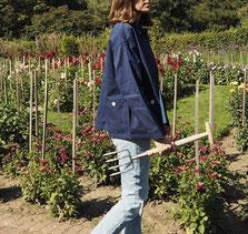 Geschenke für Gärtnerinnen: Arbeitsjacke von Le Mont Saint Michel - die hält warm & ewig