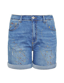 modische Jeans Short in XXL