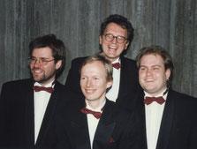erstes Pressefoto mit Peter 1989