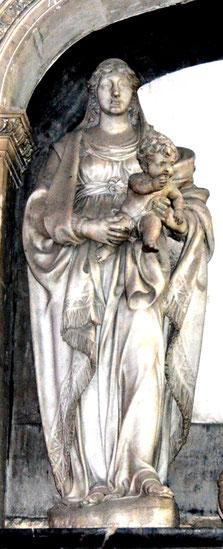Vierge du Monument funéraire de Guillain Lucas