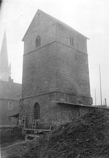 dudweiler, alter turm ev. kirche