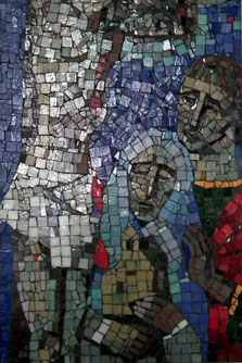 12. Station: Jesus stirbt am Kreuz