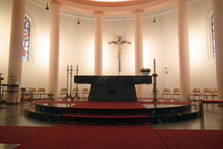 Altar, St. Hubertus, Jägersfreude