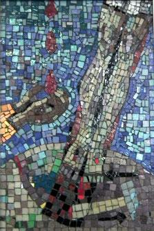 11. Station: Jesus wird ans Kreuz genagelt