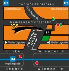 Anfahrt Bilderrahmen Eder 1060 Wien