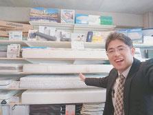 マニフレックスは、全種類寝比べできるマニステージ福岡へ。
