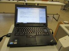 Drei Laptops für Chemie