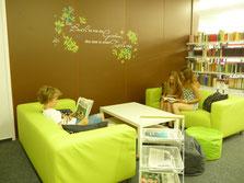 Sofas für die Bibliothek