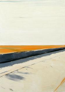 Matthieu van Riel. Schilderijen. Zonder titel 155x110cm olie op canvas 2012
