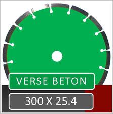 prodito slijpschijf 300mm om verse beton te verzagen met een benzine doorslijper met opname 25.4