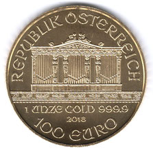Investieren in das Edelmetall Gold Wiener Philharmoniker 1 Unze (Vorderseite)