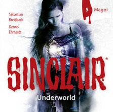 CD Cover Sinclair Underworld - Magoi