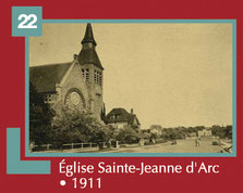 Eglise Sainte-Jeanne d'Arc ° 1911