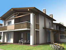 Edificio con più unità abitative