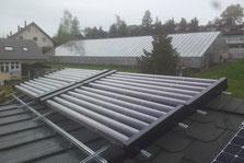 Referenzen von thermischen Solaranlagen mit Vakuumröhrenkollektoren der Solar hoch 2 GmbH